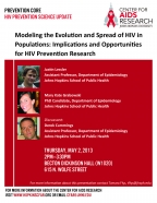 Modeling the Evolution and Spread of HIV in Populations: Implications and Opportunities for HIV prevention Research - Image