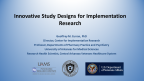 Innovative Study Designs for Implementation Research - Image