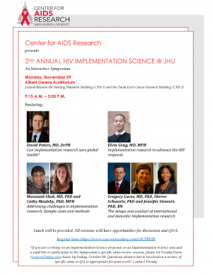 Implementation Science @ JHU: An Interactive Symposium