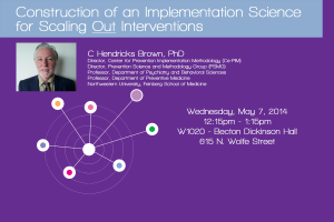 Construction of an Implementation Science for Scaling Out Interventions