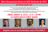Mini-Symposium Series in HIV Methods: Network Modeling - image