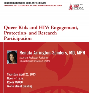 Queer Kids and HIV: Engagement, Protection and Research Participation