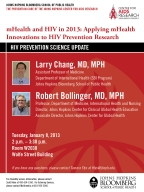HIV Prevention Science Update: mHealth and HIV in 2013 - Image
