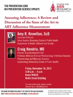 HIV Prevention Science Update: Assessing Adherence - Image