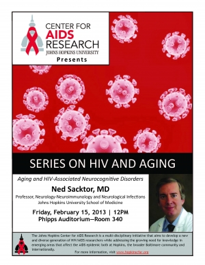 Aging and HIV-Associated Neurocognitive Disorders