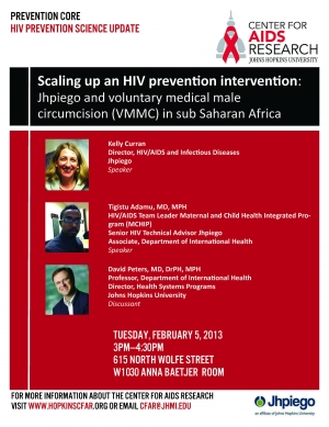 HIV Prevention Science Update: Scaling Up an HIV Prevention Intervention