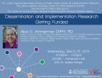 Dissemination and Implementation Research - Getting Funded - Image