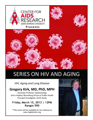 HIV, Aging and Lung Disease