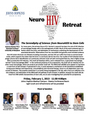 NeuroHIV Retreat 2013