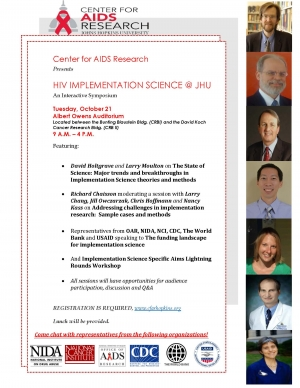 HIV Implementation Science @ JHU Symposium