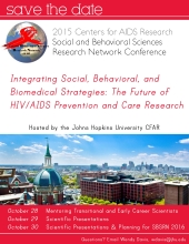 2015 CFAR Social and Behavioral Sciences Research Network Conference - image