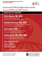 World Aids Day Symposium: Local and Global Implications of the Lancet MSM and HIV Series - Image