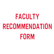 Recommendation Form - text