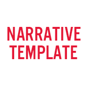 Narrative Template - text